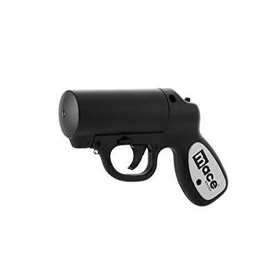 MACE Pepper Spray Gun w LED strobe feature 20 feet range BLACK