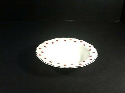 BEAUTIFUL VINTAGE W- S- GEORGE LIDO DESSERTBERRY BOWL