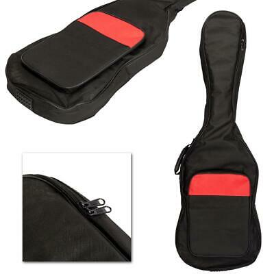 New Nylon Padded Electric Guitar Soft Case Gig Bag Backpack Black