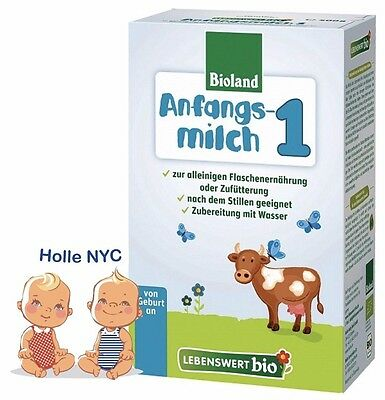 Holle Lebenswert Stage 1 Organic Formula500g 102018  FREE PRIORITY MAIL