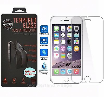 New Premium Real Tempered Glass Film Screen Protector for Apple iPhone 6S 4-7