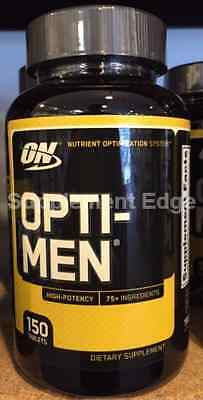 Optimum Nutrition Opti-Men 150 Count   Free shipping
