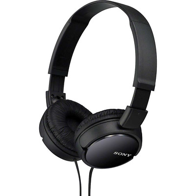 Sony MDR-ZX110 Stereo Extra Bass Monitor Over-Head Headphones