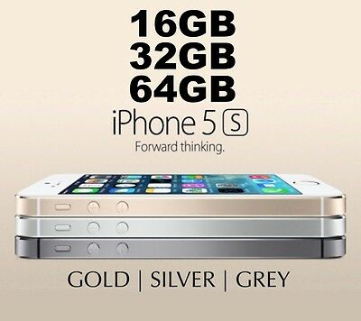 LIKE NEW Apple iPhone 5S 16GB 32GB 64GB 3 COLORS 100 Unlocked FROM MELBOURNE MR