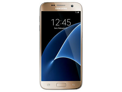 Samsung Galaxy S7 32GB G930T GSM T-Mobile 4G LTE 12MP Phone Gold Shadow LCD USED