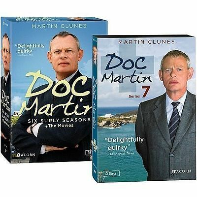 Doc Martin The Complete Series Season 1-7 DVD New