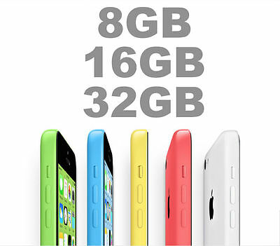 Apple iPhone 5c 8GB 16GB 32GB 4G 5 COLORS 100 Unlocked FROM MELBOURNE MR AU