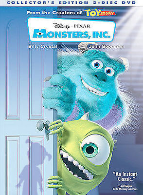 Monsters Inc- Two Disc Collectors Edition DVD2002- Billy Crystal