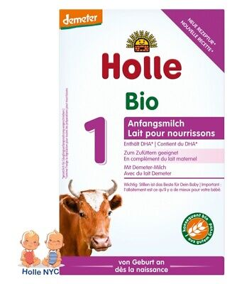 Holle Stage 1 Organic Formula 0-6 months 400g 022020