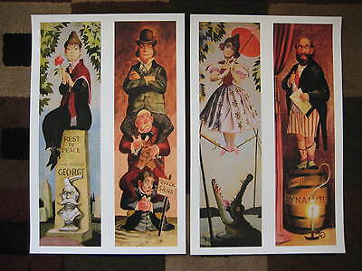 Vintage Disney 11 x 17  Haunted Mansion Stretching Room  Collectors Prints