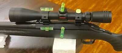 THE ULTIMATE RIFLE SCOPE LEVELING - SIGHTING SYSTEM-MADE WITH EUROPEAN LEVELS