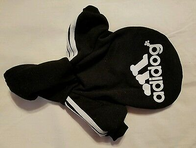 Winter new Casual Small Adidog Pet Dog Clothes Warm Hoodie Coat Jacket Clothing