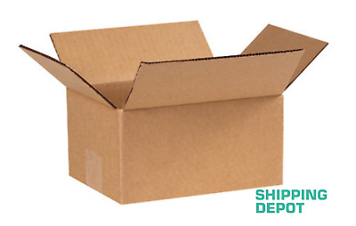 1-100 8x6x4 Corrugated Cardboard Packing Shipping Mailing Moving Carton Boxes