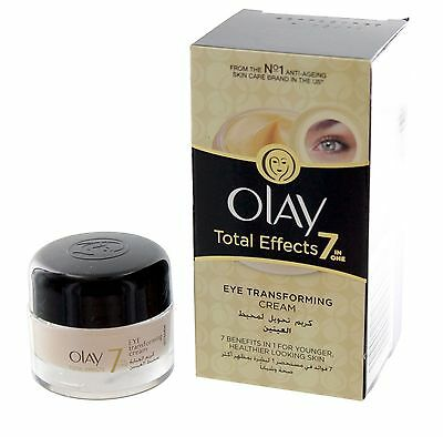 Olay Total Effects Anti-Aging 7 in 1 Eye Transforming Cream Treatment 0-5 oz