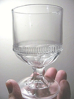 EAPG ca-1870s - Prism - Flute Egg Cup - Bakewell Pears - Co- - FREE SHIPPING