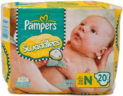 Pampers Swaddlers P-G Newborn 240 pampers