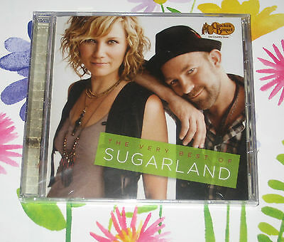 The Very Best Of SUGARLAND CD - 12 HIT SONGS -  New - Sealed