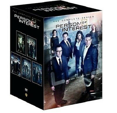 Person of InterestThe Complete Series Seasons 1-5 DVD27-Disc Set2016 NEW