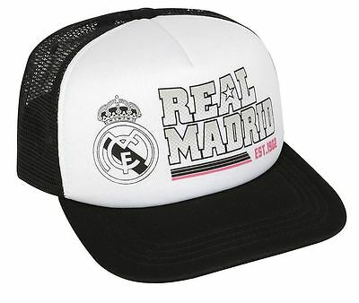 Official Real Madrid Trucker Cap Hat Licensed Product 2019