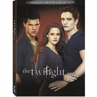 The Twilight Saga Complete 5-Movie Collection DVD20162-Disc Set