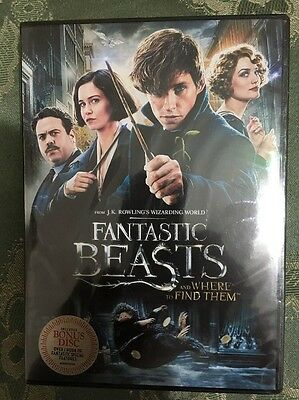 Fantastic Beasts and Where to Find Them DVD 2017 2-Disc Set Brand New-
