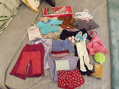HUGE American Girl Doll Lot of 35 Items  Clothes and Accessories Grace
