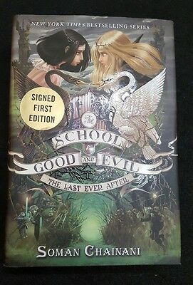 The school for good and evil signed first edition