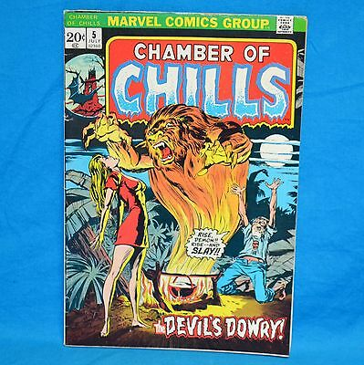 Marvel Comics Group Chamber of Chills 5 July 1973 The Devils Dowry