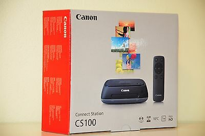 Canon Connect Station CS100 1TB Network Attached Storage 9899B002 - Brand New
