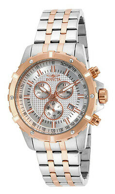 Invicta Specialty 17507 Mens Analog Chronograph Date Rose Gold Tone Watch