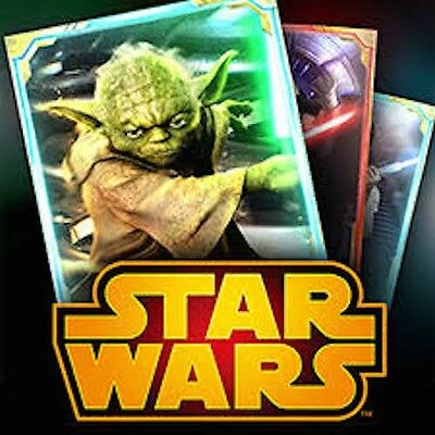Star Wars Force Collection  11000 Crystal Accounts  Draw Cards at a discount
