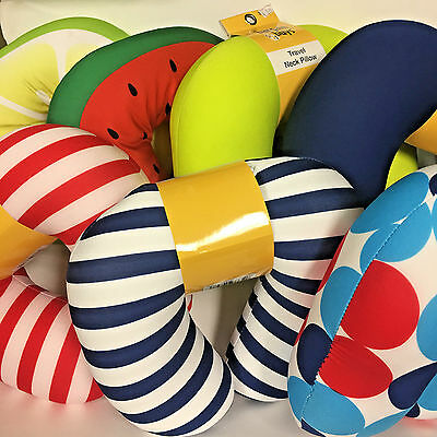 Bargain Buys Travel Neck Pillow Assorted Colors - Designs Your Choice