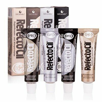 Refectocil Professional Eyelash Eyebrow Beards Tint Hair Cream Dye Henna 5 Color