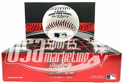12 Rawlings 2017 Fourth 4th of July Official Game Baseball Boxed - Dozen