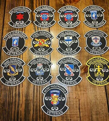 Veterans unit patch  Very high quality patches