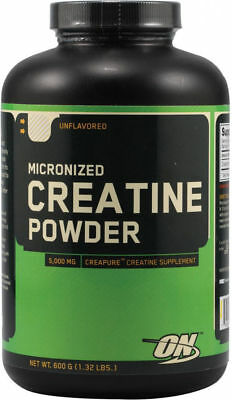 Micronized Creatine Powder Optimum Nutrition 600 gram Unflavored