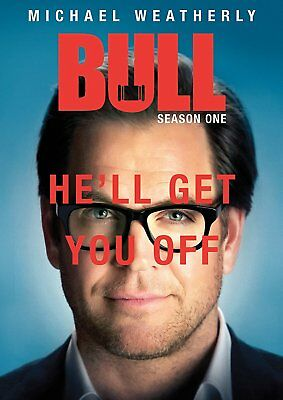 BullThe Complete First Season 1 OneDVD20176-Disc SetNEW Michael Weatherly