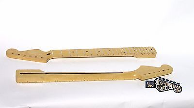 Maple Stratocaster Replacement Guitar Neck Polished 21 Frets -USA Guitar Shop