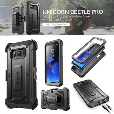 For Samsung Galaxy S8 ACTIVE Case SUPCASE Shockproof Cover With Screen Protector