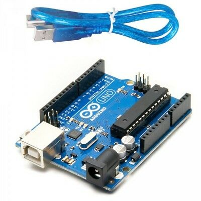 Arduino Uno R3 DIP - USB Set OR A000066 Microcontroller Only OR USB Wire Only