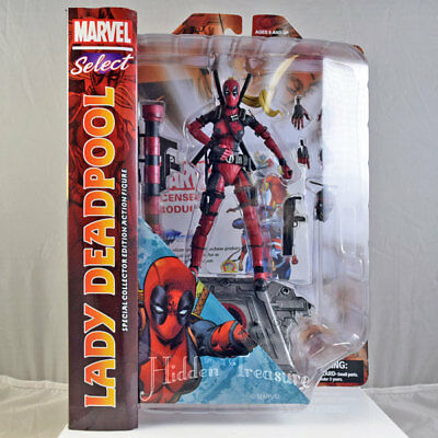 Marvel Select LADY DEADPOOL Collectible Action Figure