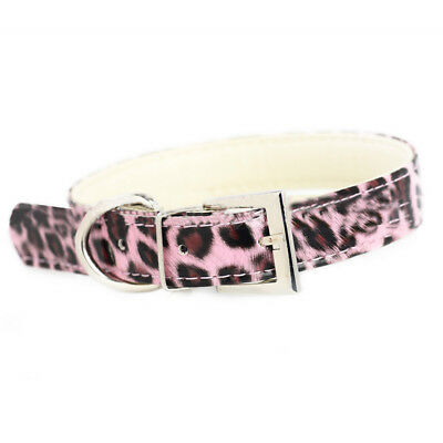 Pink Bling Pet Collar Adjustable Puppy Cat Collar For Small Dogs Pets Collar L