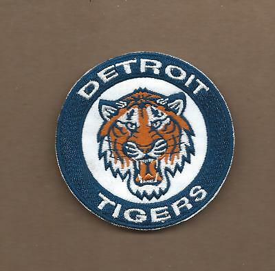 NEW 3 INCH DETROIT TIGERS IRON ON PATCH FREE SHIPPING