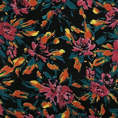 Printed Rayon Challis Fabric 100 Rayon 5354 wide Sold by the Yard 1023-3