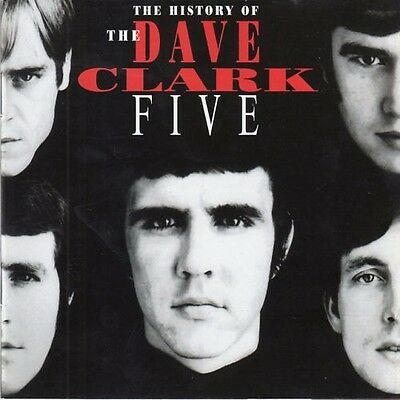 THE HISTORY OF THE DAVE CLARK FIVE 32PG-BOOK 2CD SAME DAY-FREE SHIPPING