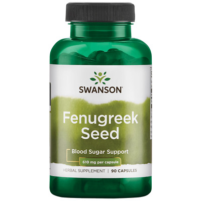 Swanson Fenugreek Seed 610 mg 90 Caps
