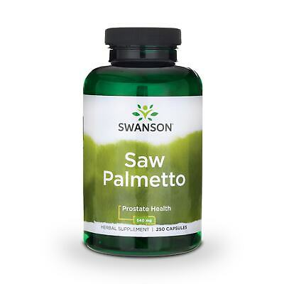 Swanson Saw Palmetto 540 mg 250 Caps
