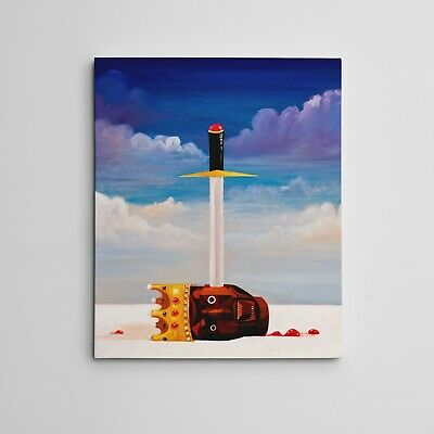 Gallery Art Canvas- Kanye West My Beautiful Dark Twisted Fantasy Power