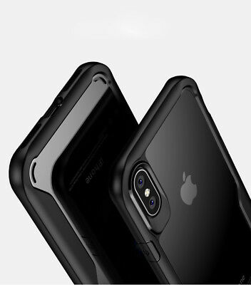 For iPhone X Mosafe® Hybrid Crystal Clear Hard Shockproof iPhone 10 Case Cover