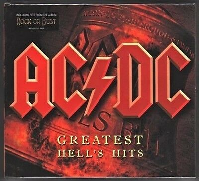 ACDC HELLS HITS 2CD